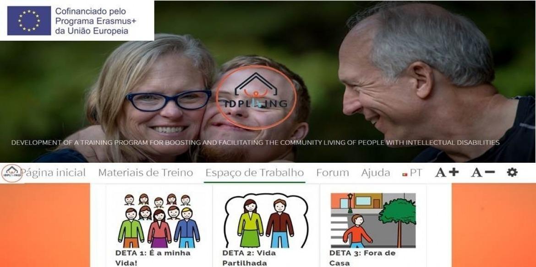 Desenvolvimento de um programa de treino para capacitar e facilitar a vida independente das pessoas com deficiência intelectual na comunidade - IDPLiving (2017-1-PT01-KA204-035959) - CERCIOEIRAS